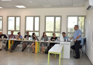 דיון בנושאי תוכניות אקדמיה עיר ואקדמיה מועצה