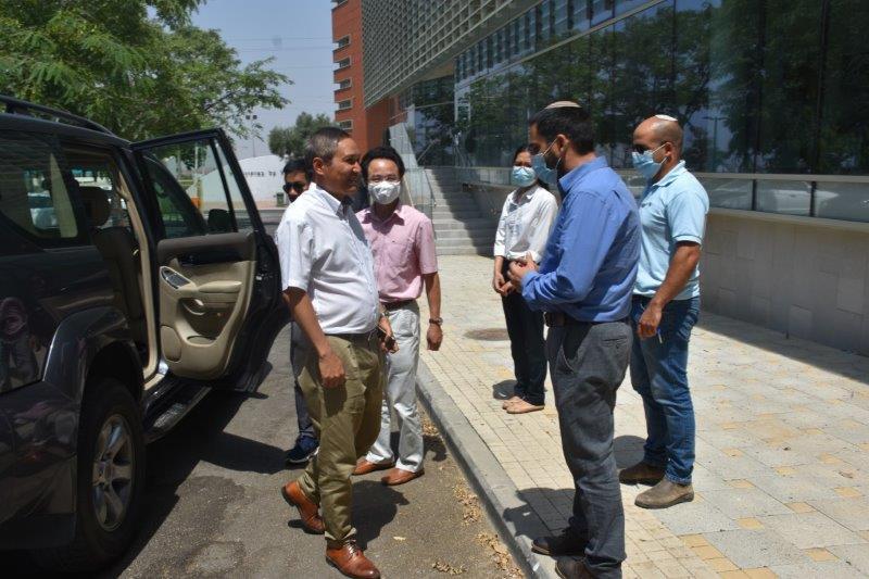 ביקור שגריר וייטנאם בישראל במכללה