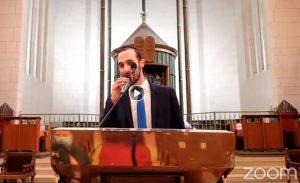 קבלת שבת מקוונת עם הקהילה היהודית בשטרסבורג